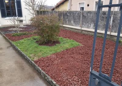 Création du jardinet